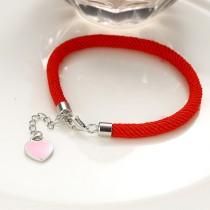 silver heart bracelet 255