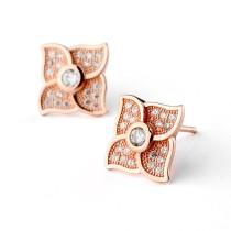 sterling silver earring 102107