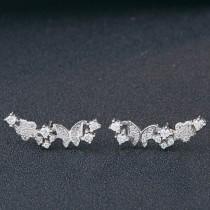 silver earring MLE179
