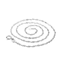 silver chain MLPL1(18 1.45g)
