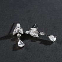 silver earring MLE535