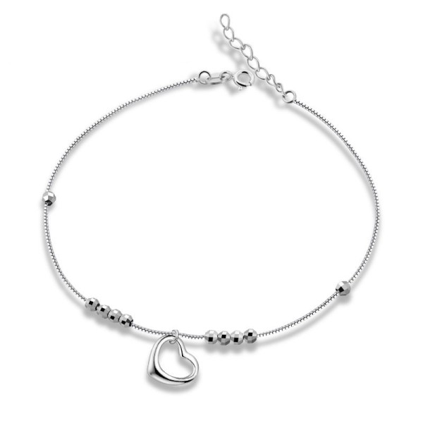 silver anklet MLL26