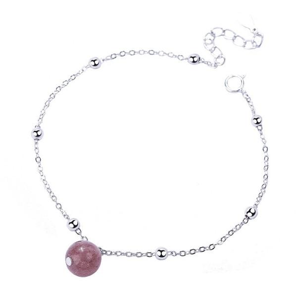 Silver Bead bracelet MLAb369