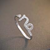 silver ring MLR239e(mojie)