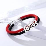 Silver constellation bracelet L281