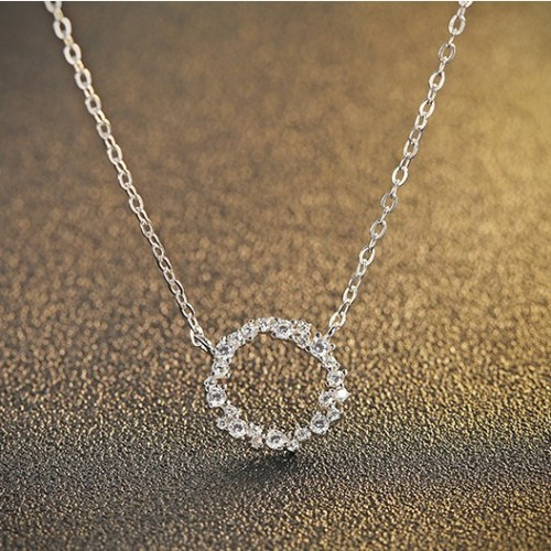 silver necklace MLA746