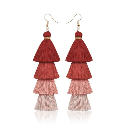 Long tassel earrings ME68123