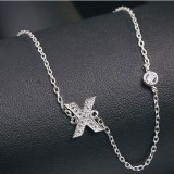 silver necklace MLA622X