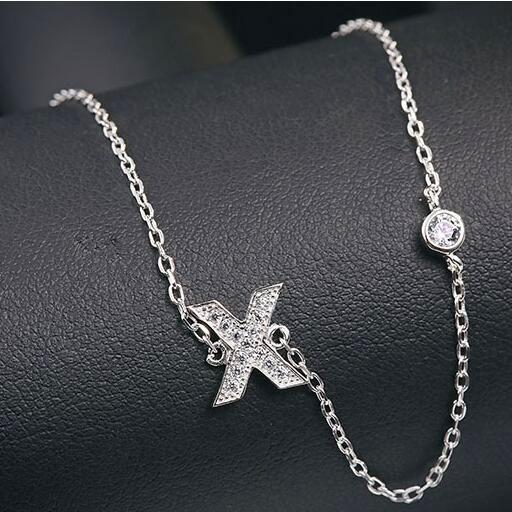 silver necklace MLA622X