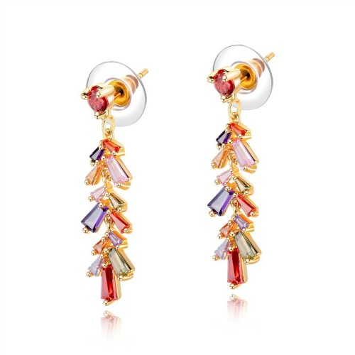 Colorful leaf earrings gb0619746