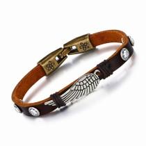 Wings leather bracelet gb06171189t