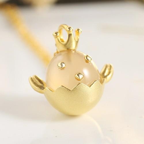 silver necklace MLA733