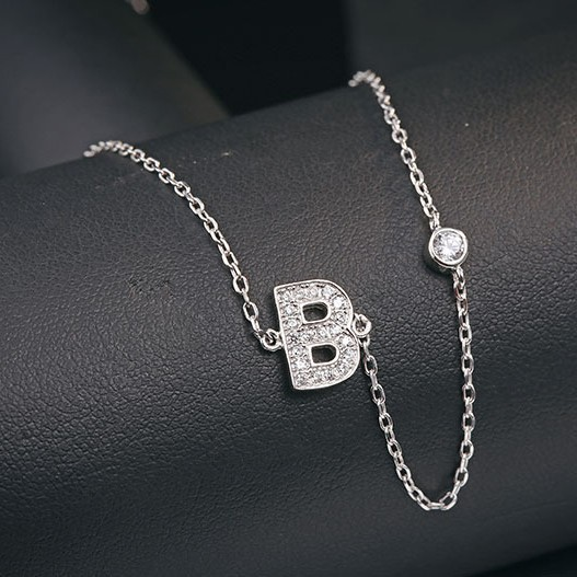 B word necklace MLA622B