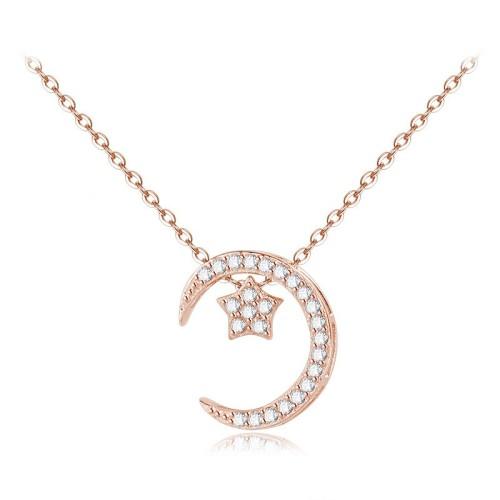 silver necklace MLA598