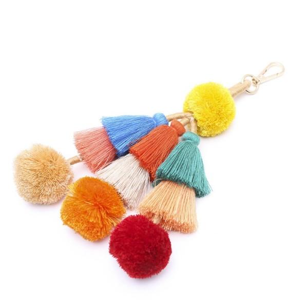 Hairball tassel keychain MK68036