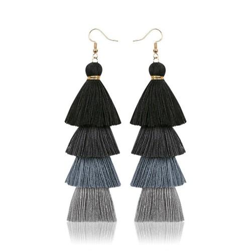 Long tassel earrings ME68123-9