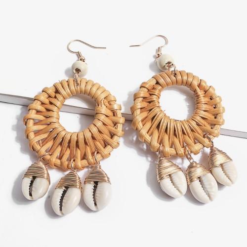 Round shell earrings ME68551