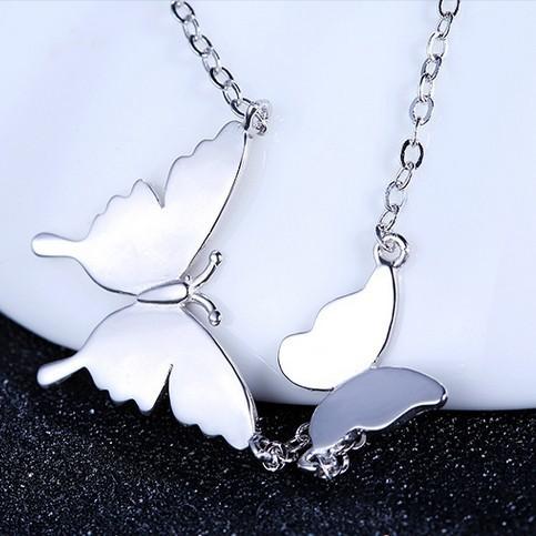 silver necklace MLA482