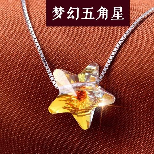 silver necklace MLA396b