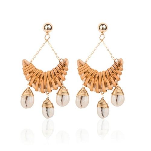 Moon tassel earrings ME68524-1