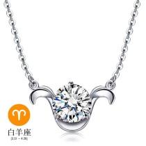 silver necklace MLA235a