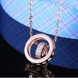 silver necklace MLA343