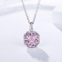 Silver Clover necklaceMLA1007