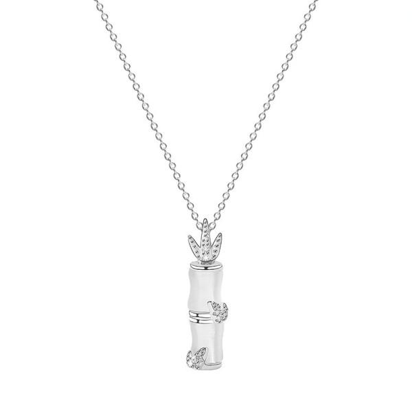silver necklace MLA054