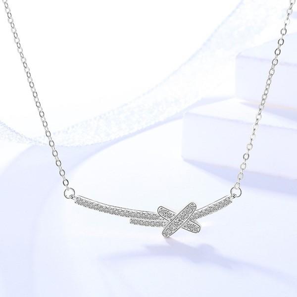 silver necklace MLYA0042-1