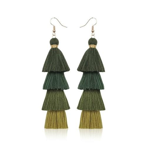 Long tassel earrings ME68123-7