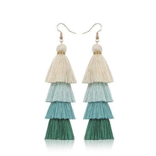 Long tassel earrings ME68123-1