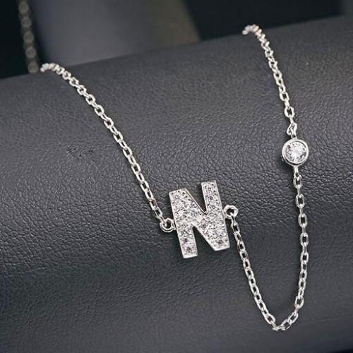 silver necklace MLA622N