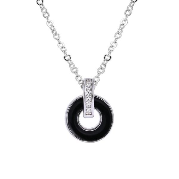 silver necklace MLA1409-1