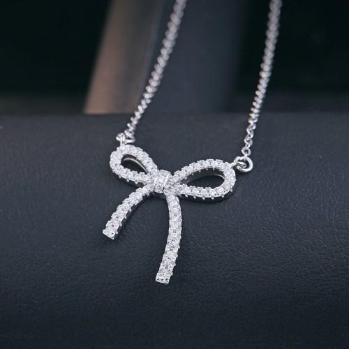 silver necklace MLA594