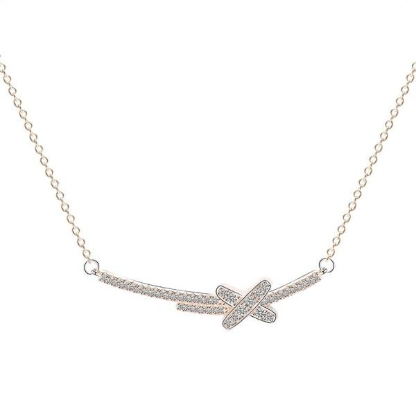 silver necklace MLYA0042