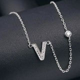 silver necklace MLA622V