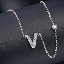 silver necklace MLA622V