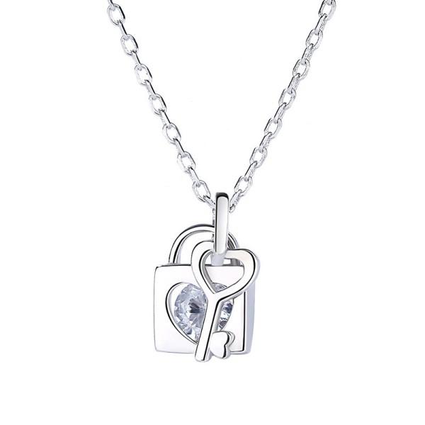 silver necklace MLA1197-1