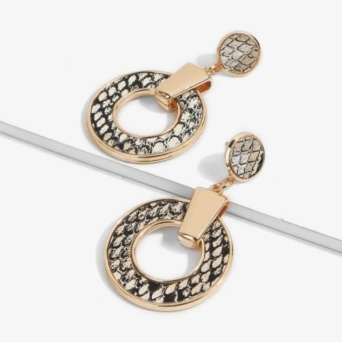 Big circle earrings ME68560-3