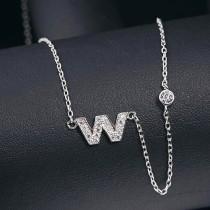 silver necklace MLA622W