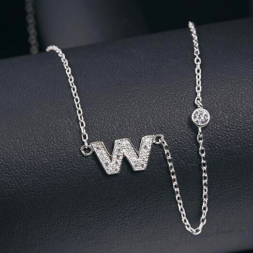silver necklace MLA622W
