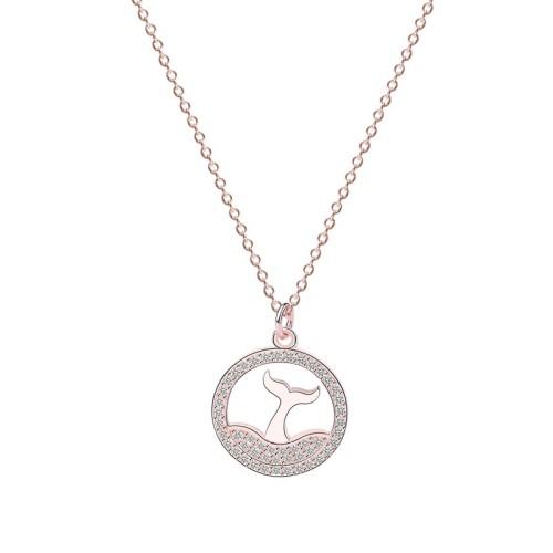 silver necklace MLA720-1