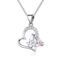 silver necklace 22536