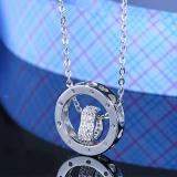 silver necklace MLA343A