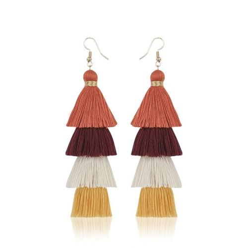 Long tassel earrings ME68123-5