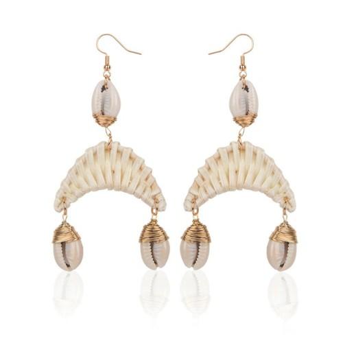 Ocean wind shell earrings ME68537
