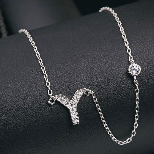silver necklace MLA622Y