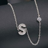 silver necklace MLA622S