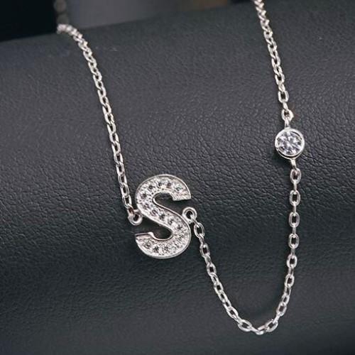 silver necklace MLA622S