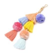 Hairball tassel keychain MK68042
